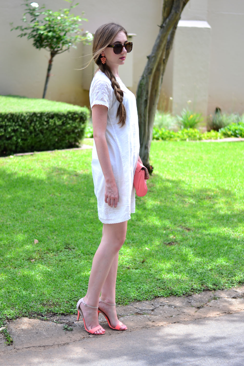 White Summer Dress Arum Lilea