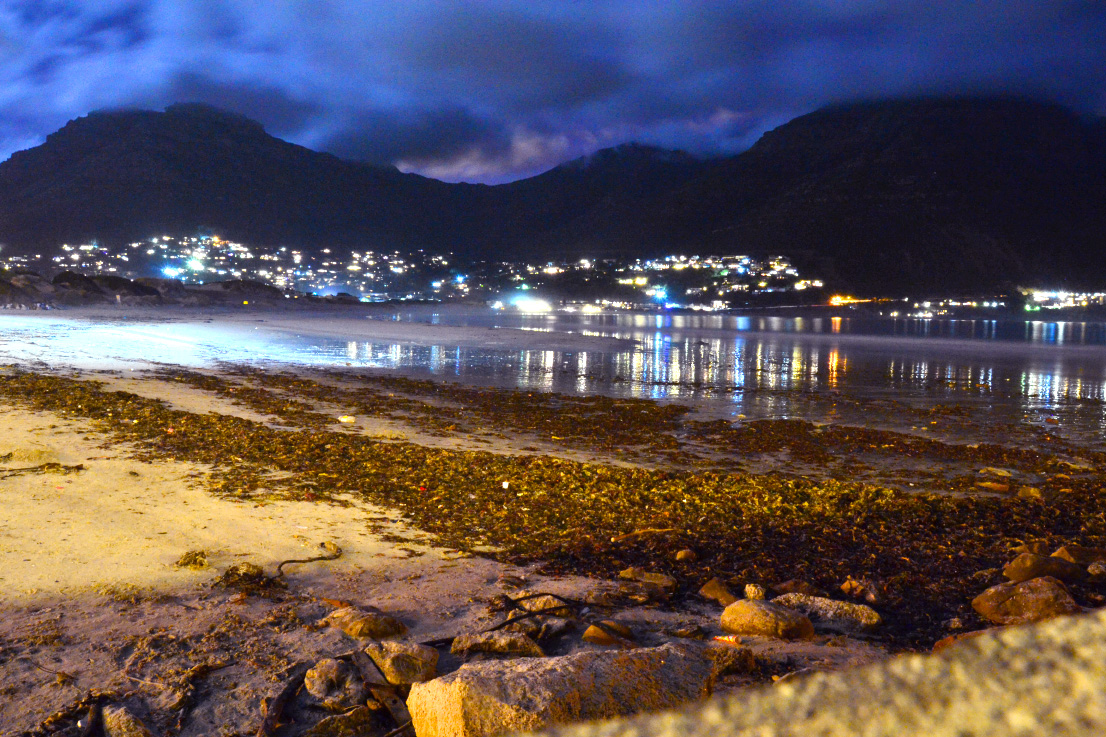 hout bay by night