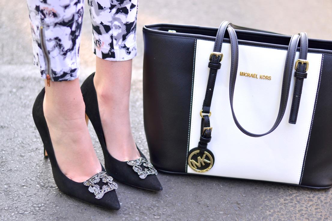 Dune of London heels Michael Kors bag