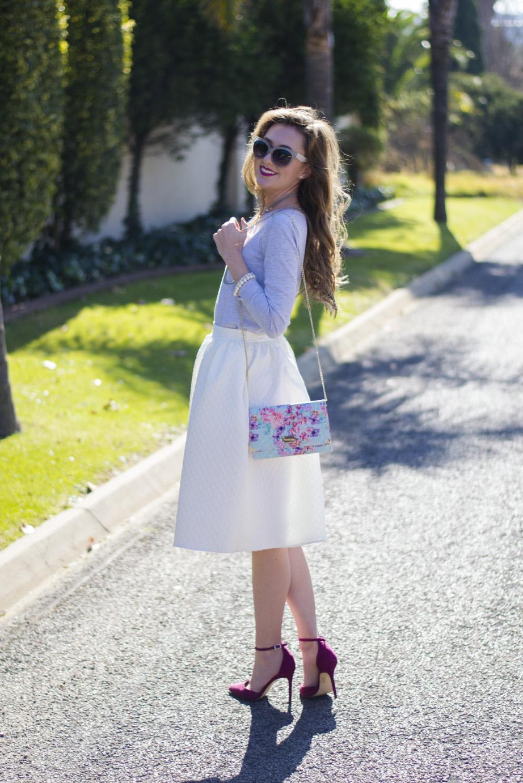 mr price white midi skirt