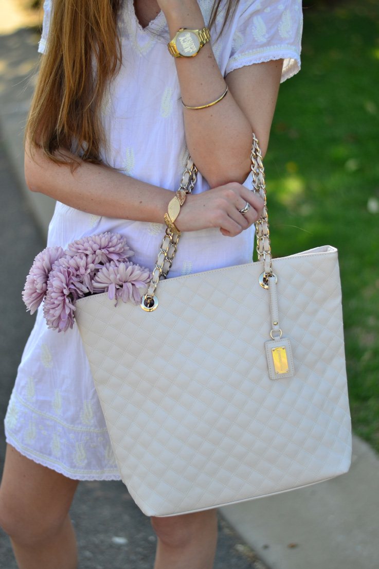 forever new quilted bag