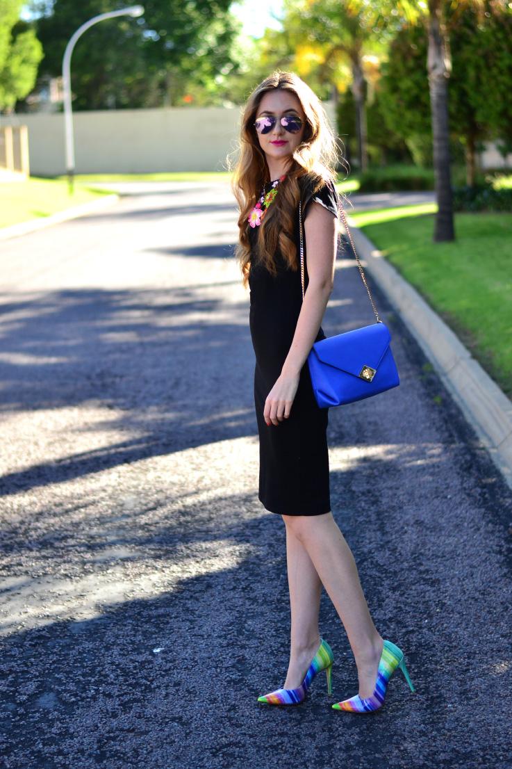 cotton on - black dress