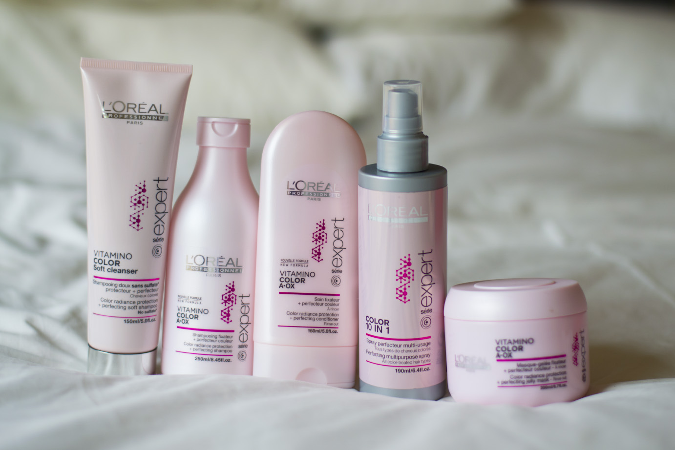 L'Oreal Professionel Paris Vitamino Color A-OX range