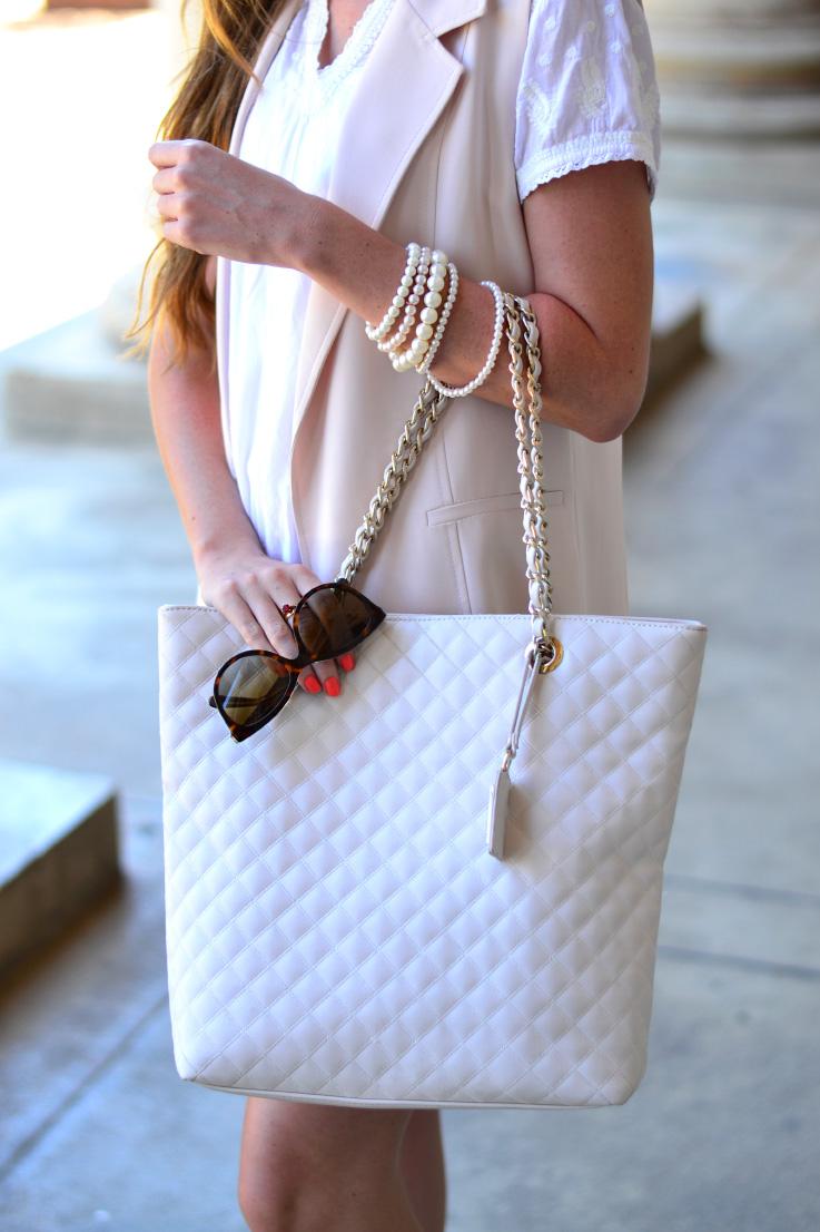 forever new bag - dolce & gabbana sunglasses