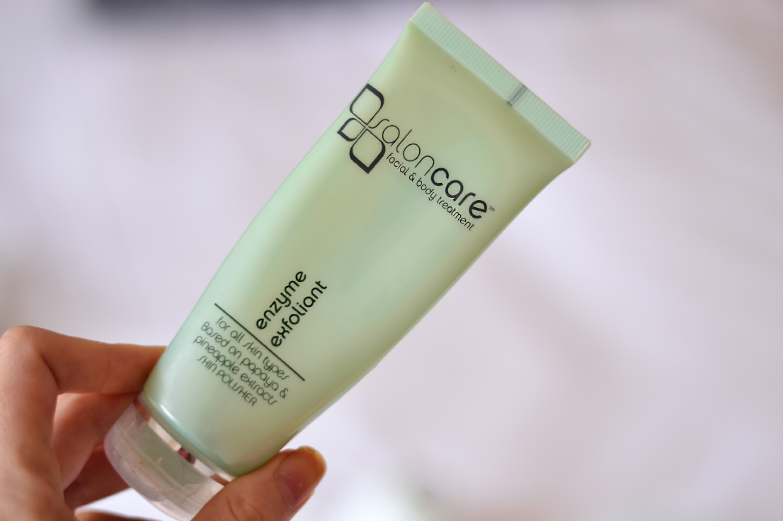 salon care - enzyme exfoliator - skin care routine