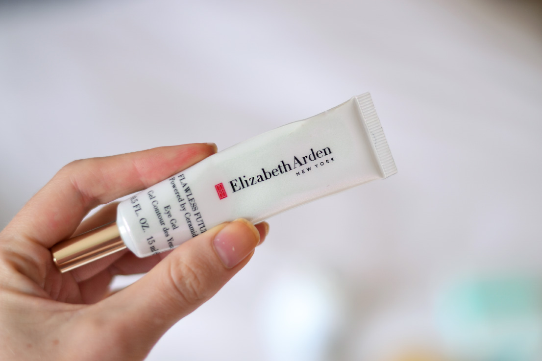 skin care update - elizabeth arden flawless future - eye gel