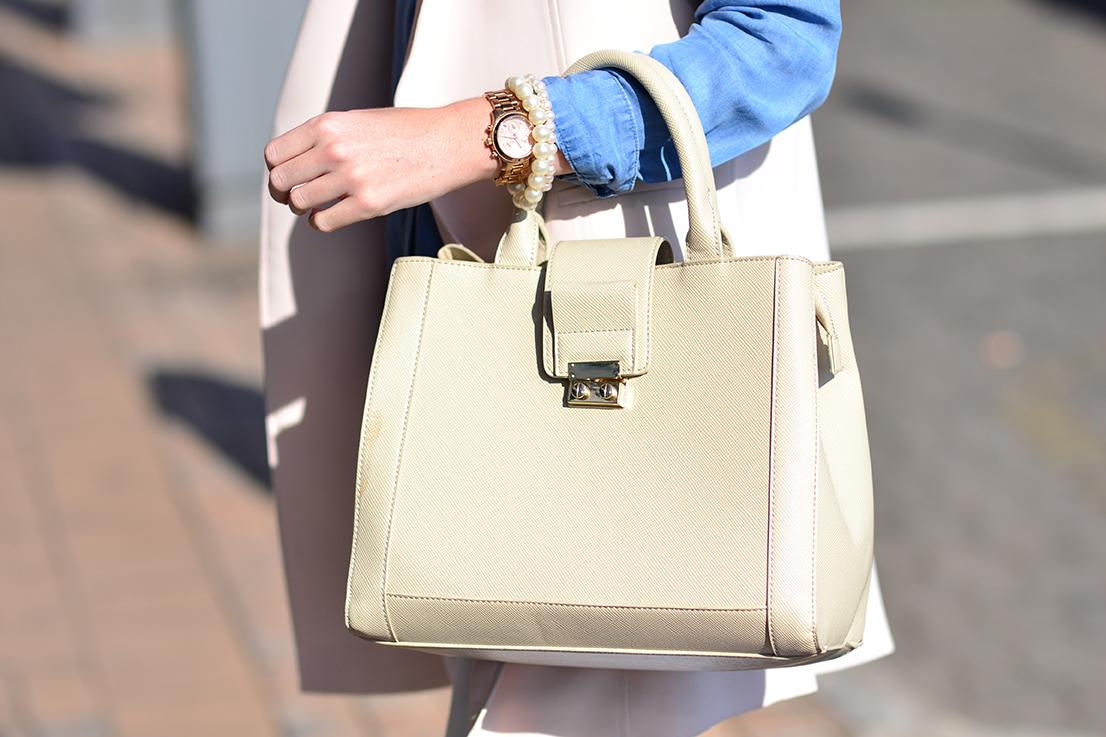 Arum Lilea - Zara handbag