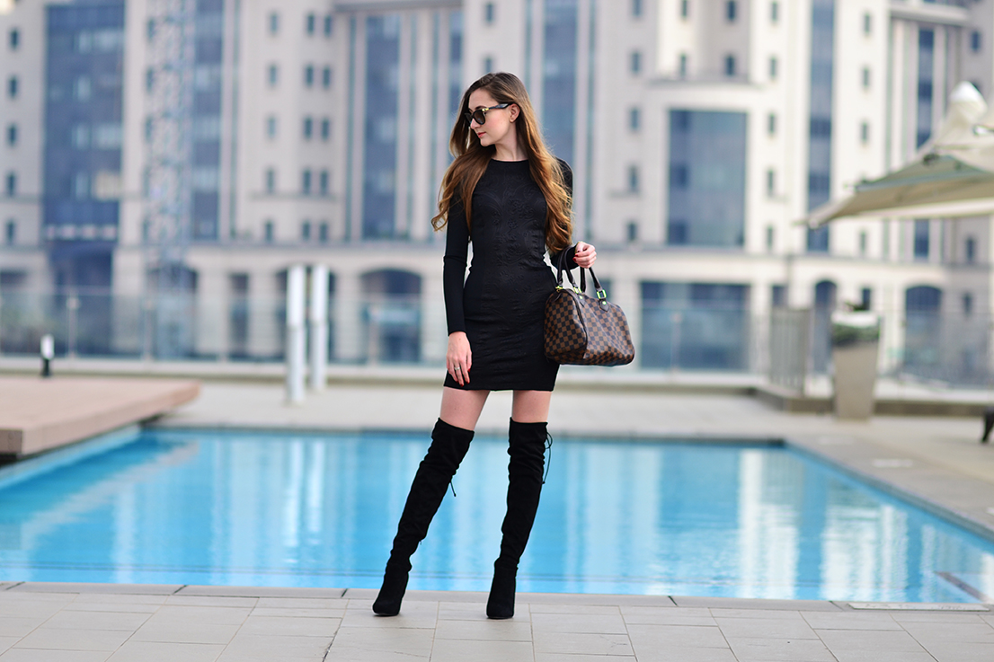 YDE - stuart weitzman style suede over the knee boots