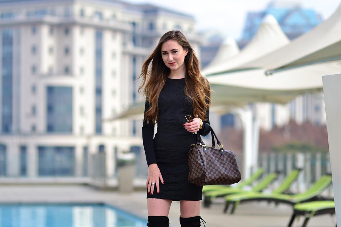 radisson blu sandton - black scuba dress