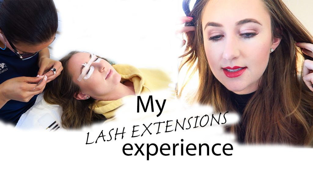 My Eyelash Extensions Experience