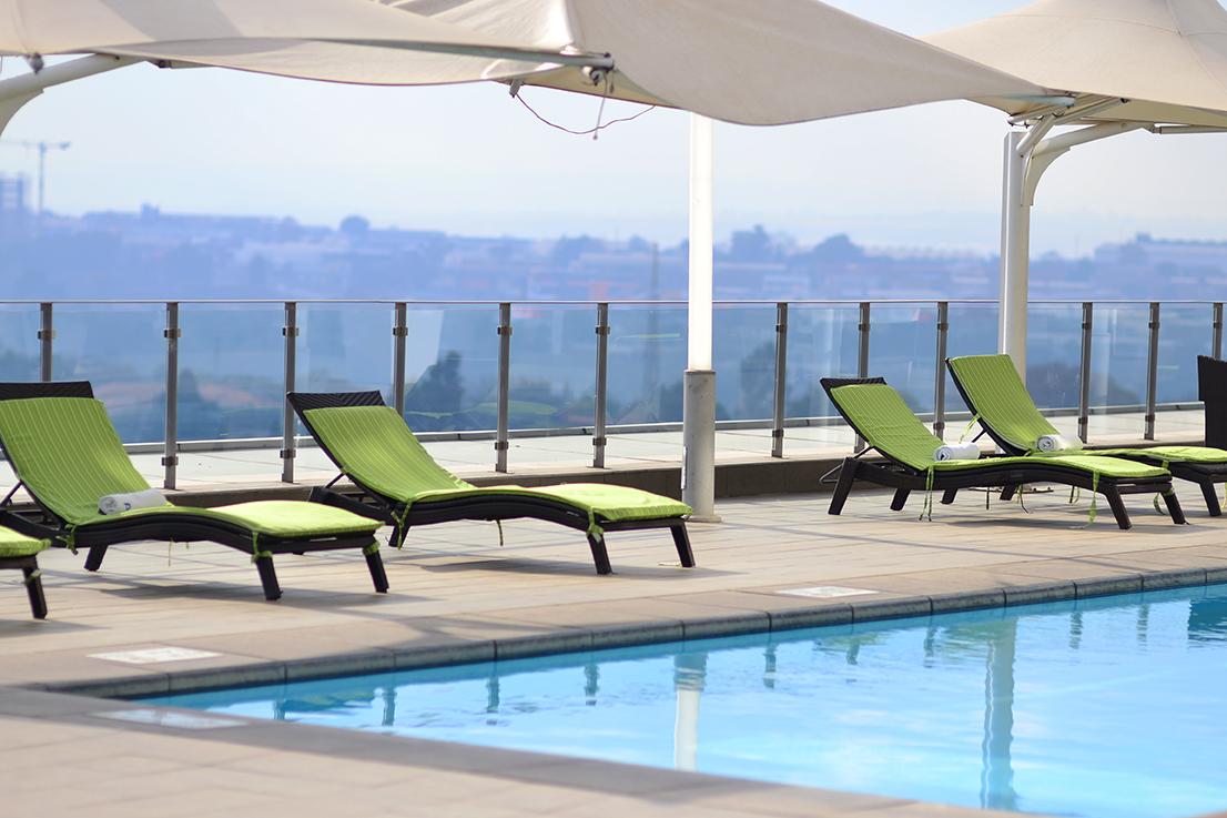 radisson blu hotel sandton - pool