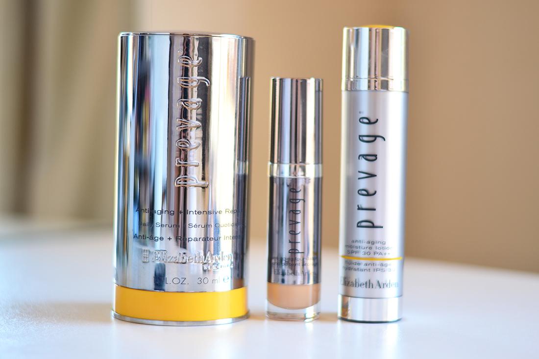 Elizabeth Arden Prevage skin care range