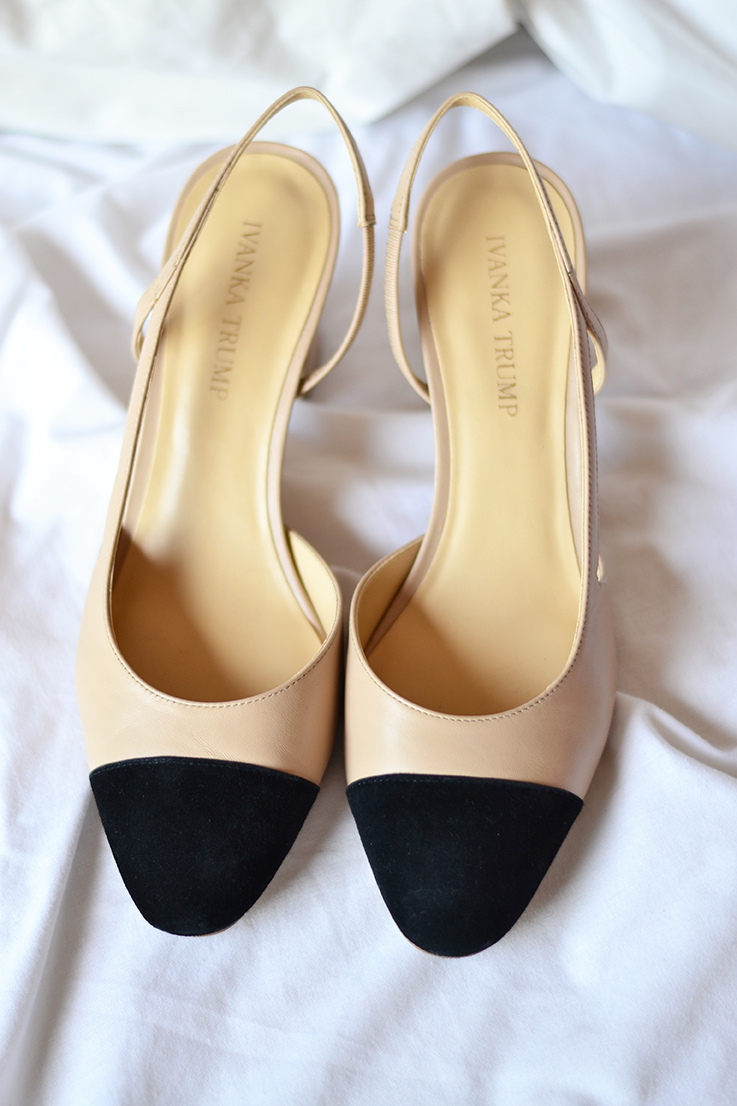 Ivanka Trump Liah pumps. Tory Burch Twiggie pumps (currently on sale for  50% off with free shipping worldwide!) (I'm loving this new version)