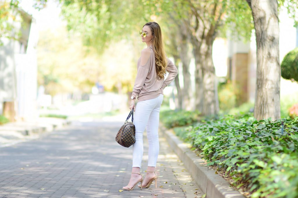River Island Cold Shoulder Sweater
