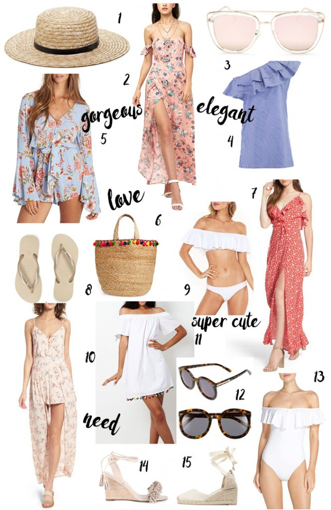 What to pack for a summer holiday