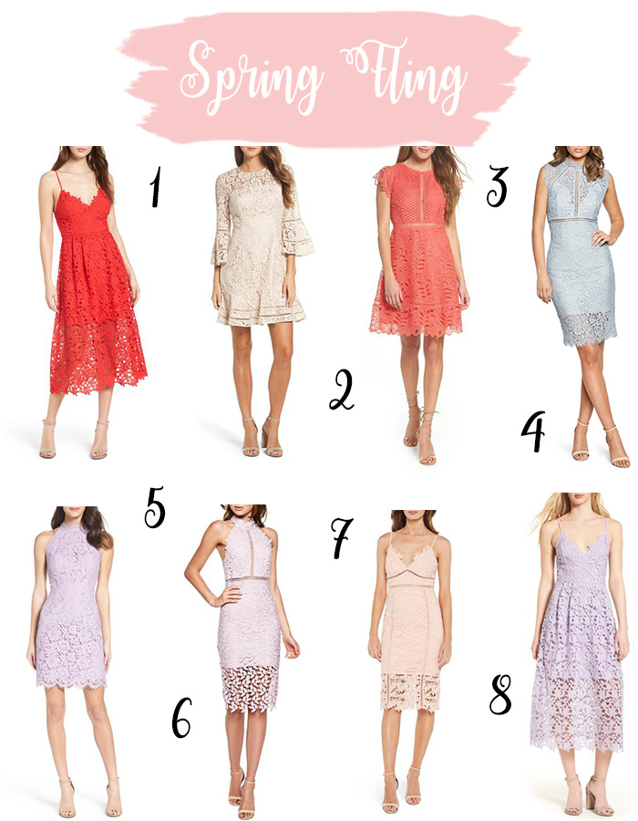 Lace Dresses You Need from Nordstrom this Spring