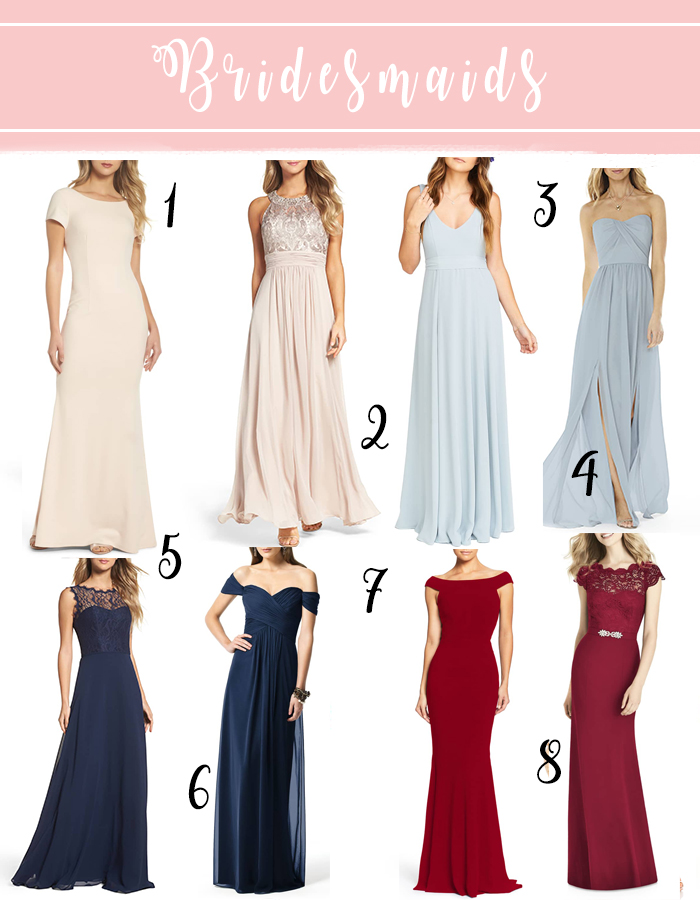 18 incredible bridesmaid dresses