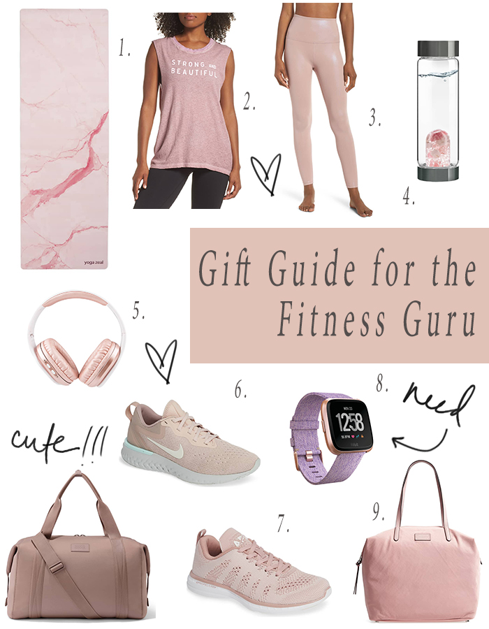 GIFT GUIDE FOR THE FITNESS JUNKIE