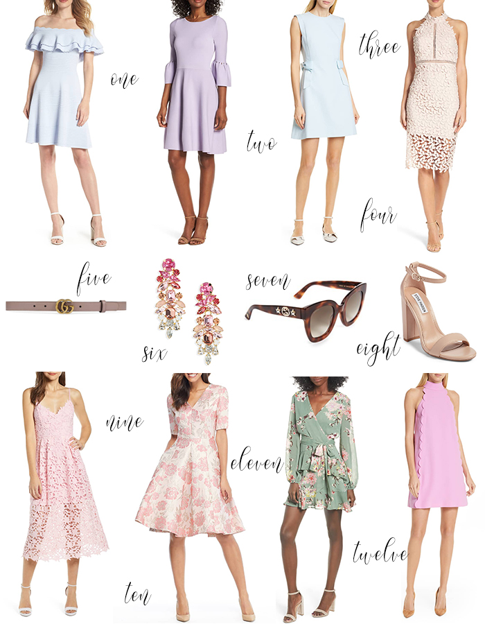 April dress selections