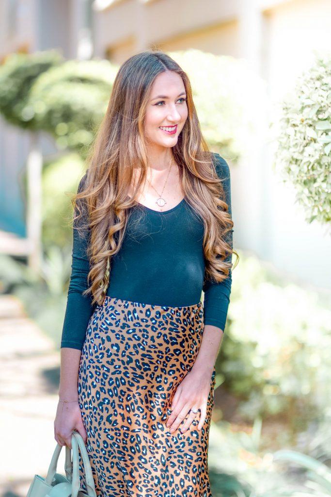 Ways to wear a Leopard Print Midi Skirt